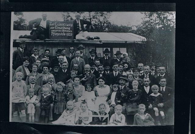 Einweihung Heim 1923